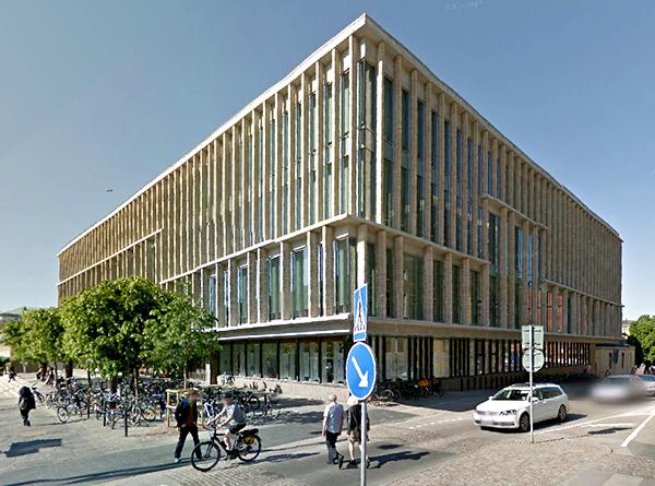 Goteborgs stadsbibliotek Streetview-GoogleMaps