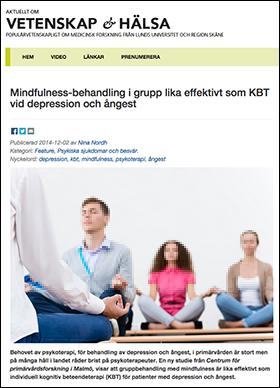Mindfullness - Vetenskaphalsa.se