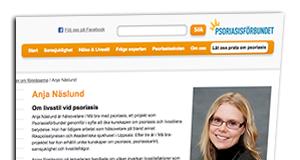 Psoriasisförbundet hemsida