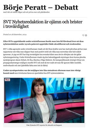 SVT Börje debatt