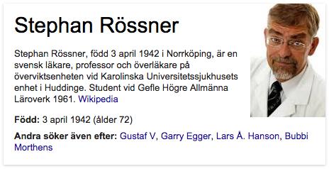 Stefan Rössner, Google