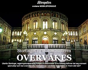 Stortinget Oslo övervakas