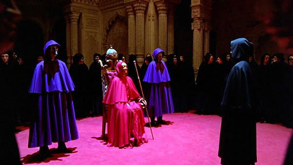 "Sexnätverk i filmen ""Eyes wide shut"""