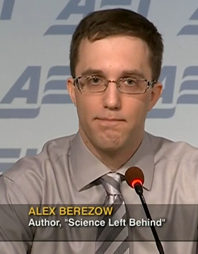 Alex Berezow,   C-Span 2012