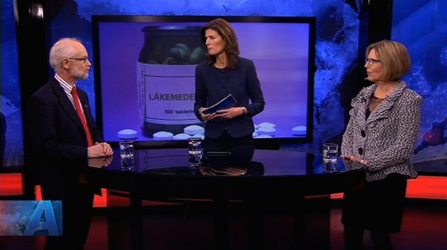 Dan Larhammar, SVT