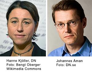 Hanne Kjöller och Johannes Åman,   DN.se