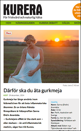 Kurera - Sanna Ehdin-Anandalaom gurkmeja - Foto: Photomedia.se, Jens C Hilner
