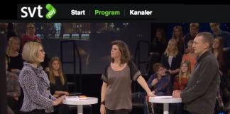 Mats Reimer och Ursula Flatters - SVT Debatt den 15 jan 2015