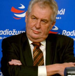 Milos Zeman Foto Miloslav Hamrík, Wikimedia Commons