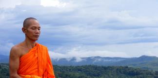 Phra Ajan Jerapunyo - Abbot of Watkungtaphao. Photo:Tevaprapas