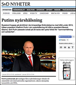 Putin nyår 2015