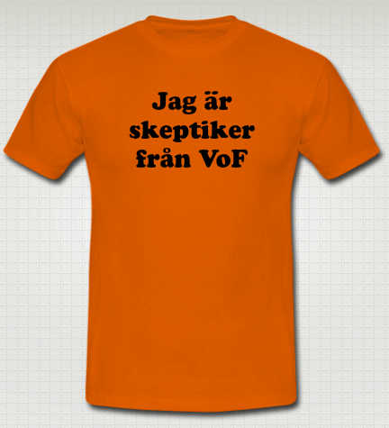 Skeptiker VoF Tshirt