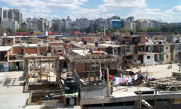 Villa 31 favelas i Buenos Aires