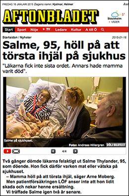 svensk äldrevård