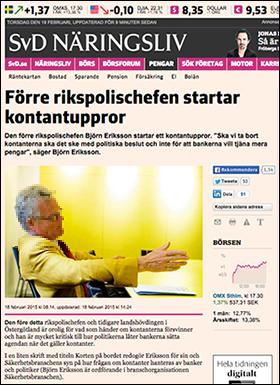 Björn Eriksson kontaktuppror