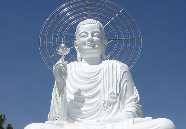 Buddha statue in Vietnam - public domain