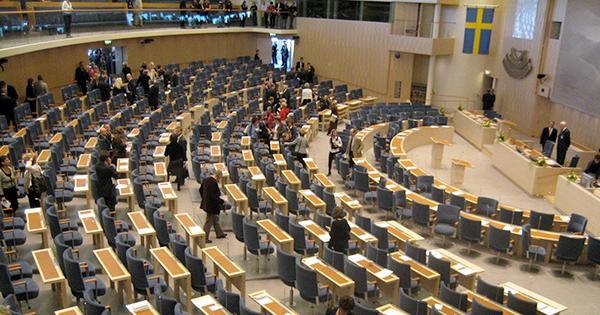 Riksdagen plenisalen 2006