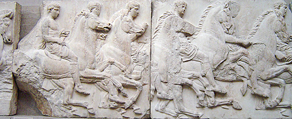 The Elgin marbles. Foto: Wikimedia Commons