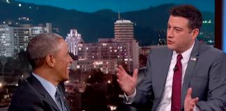 Barack Obama and Jimmy Kimmel on aliens