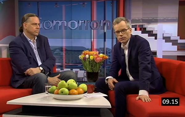 Christer Sturmark på SVT 24 mars 2015