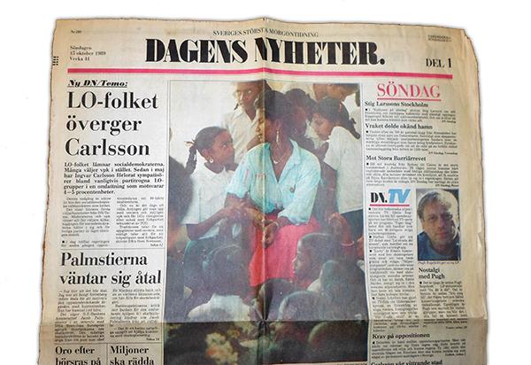 DN 15 okt 1989 om Jeya Balu