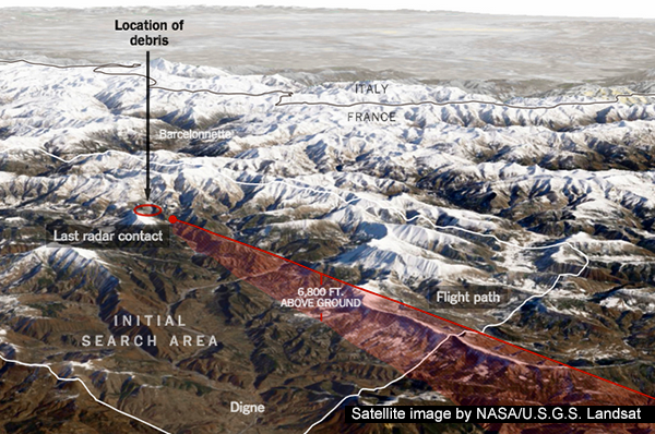 Satellite image by NASA/U.S.G.S. Landsat |New York Times