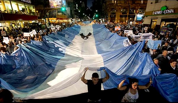 Indignados Argentina - Foto: Okänd