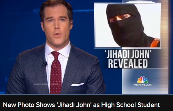 Jihadi John is from London and very well known to MI5...