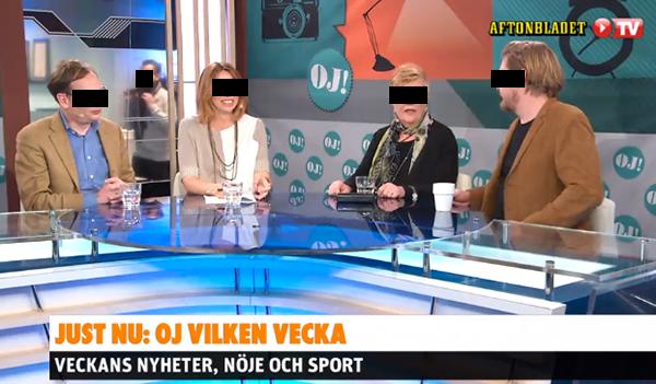 Julian Assange diskuteras i Aftonbladet - Oj vilken vecka 27 mars 2015