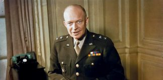 Major General Dwight Eisenhower (1942) Source: The Imperial War Museum, public domain