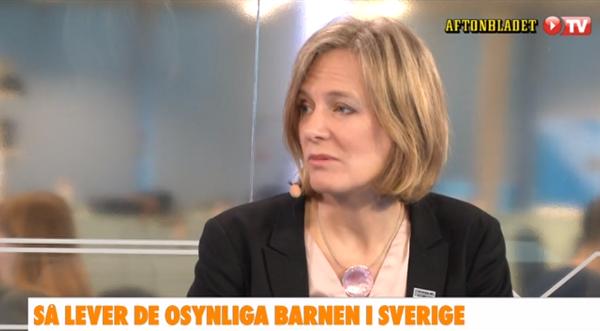 Marika Markovits, 26 feb 2015. Foto: Aftonbladet TV