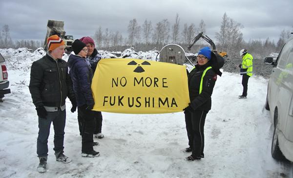 Pyhäjoki - no more Fukushima - Foto: Leon