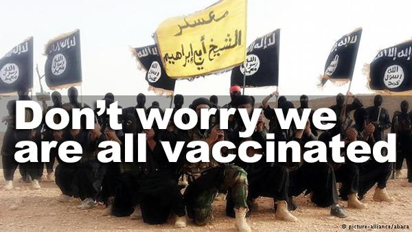 vaccinated terrorists