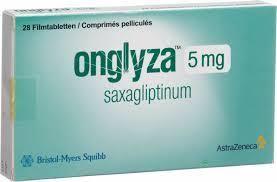 AstraZeneca Onglyza el Saxagliptin