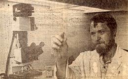 Dr Erik Enby - Foto: Frank Palm, GP, 1983-08-15