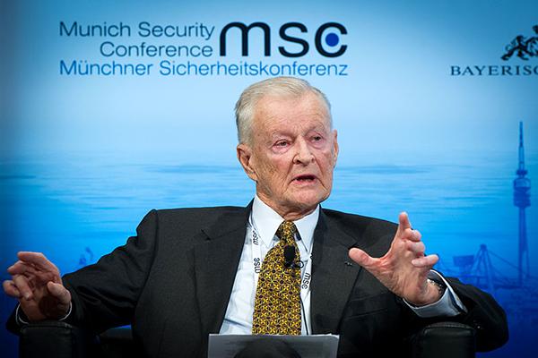 Zbigniew Brzezinski, 2014 - Foto: Klaus-Kleinschmidt