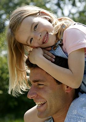 Barn och pappa - Foto från Asa-Graaf