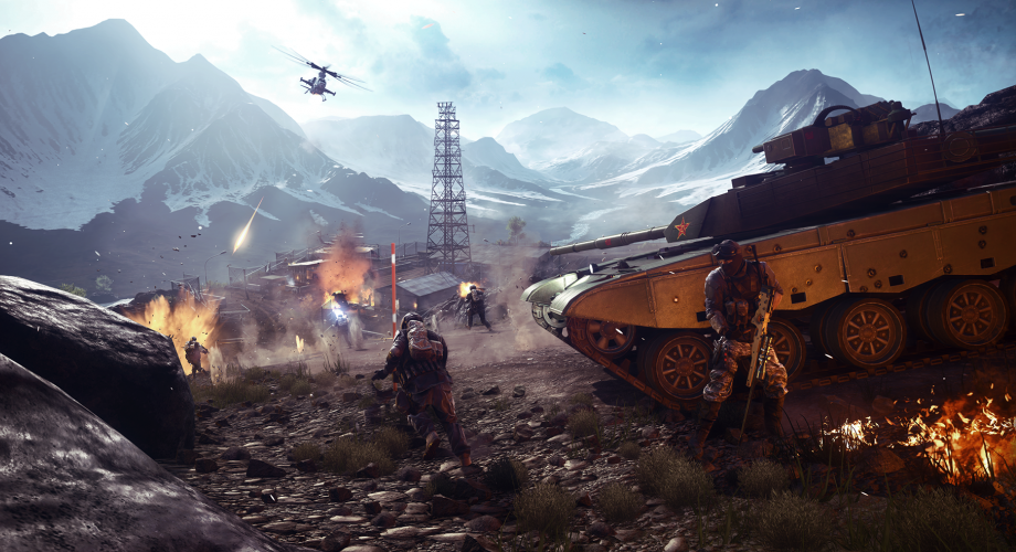 Battlefield 4, China Rising, Altai Range
