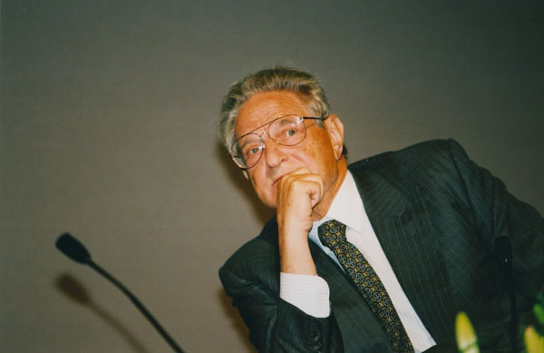 George Soros in 2002 - LSE-Library - Wikimedia Commons