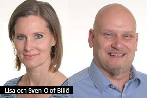 Lisa Billö och Sven-Olof Billö