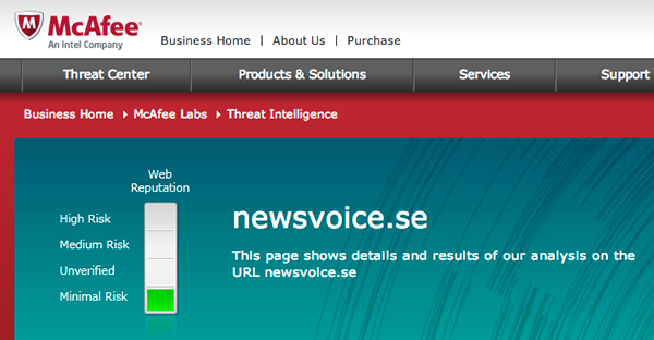McAfee-NewsVoice-is-safe