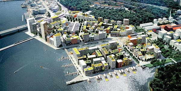 Nya Värtan Stockholm -  Bild: Adept och Mandaworks