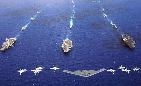 Joint operations in the Pacific - U.S. Navy photo/Chief Photographer's Mate Todd P. Cichonowicz