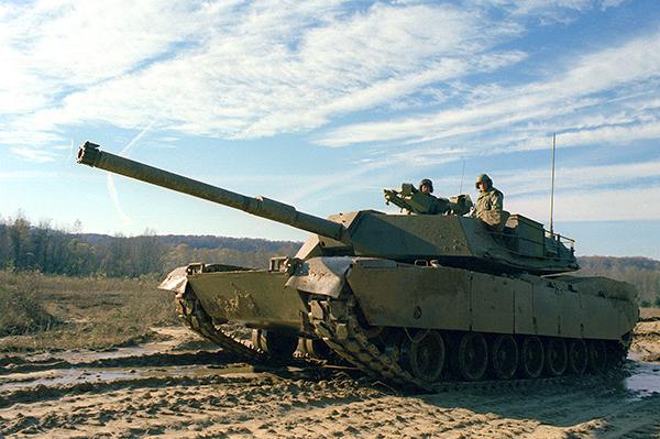 Abrams Tank - DoD photo Ed McCrossan Wikimedia Commons
