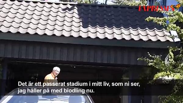 Bengt Halse fd VD SAAB biodlare