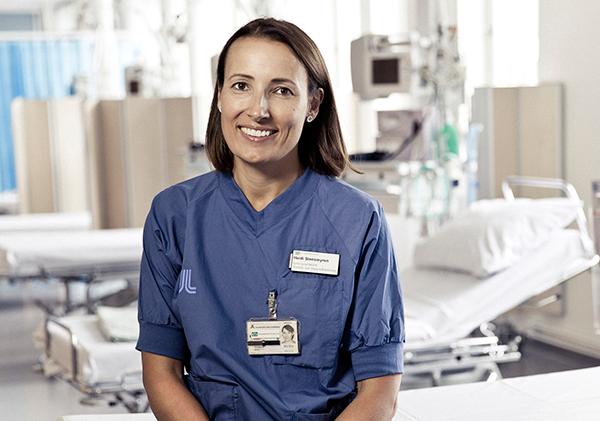 Dr Heidi Stensmyren,   ordf i Läkarförbundet - Foto: Rickard Eriksson,   Rickarderiksson.com