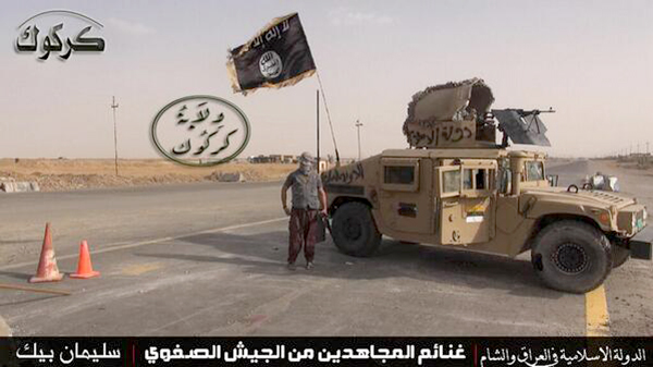 ISIS stole 2300 US Humvees - Photo: ISIS
