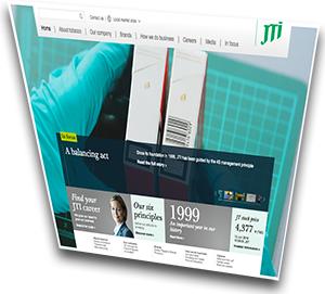 JTI-Macdonald - hemsida