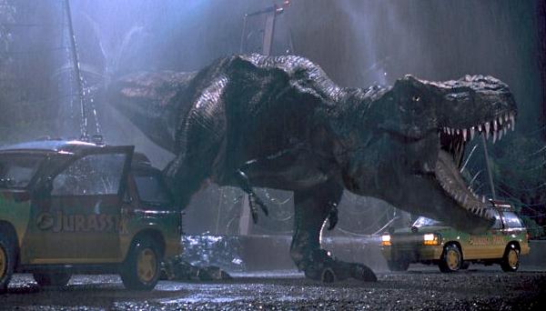 Jurassic Park bildruta från filmen