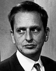 Olof Palme 1968 - Foto: Folke Hellberg